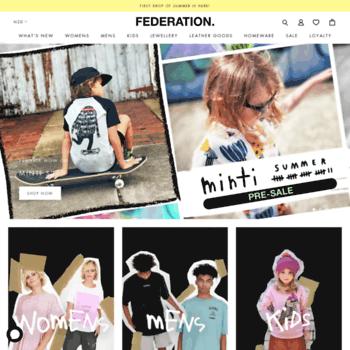 Federation.co.nz thumbnail