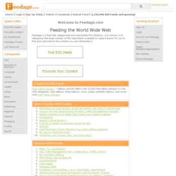 feedage com at WI  RSS feed Directory - Feedage com