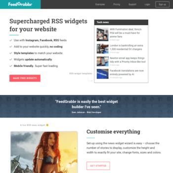 feedgrabbr com at WI  FeedGrabbr | Awesome, free RSS news widget for