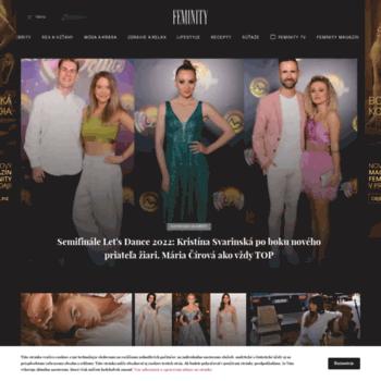 d2dee1e5e feminity.zoznam.sk at WI. Feminity.sk | Lifestylový magazín pre ženy ...