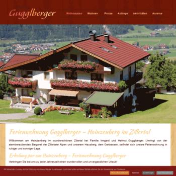 Ferienwohnung-hainzenberg.at thumbnail