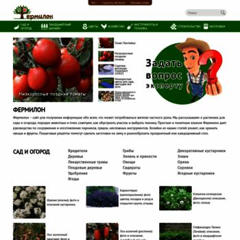 Веб сайт fermilon.ru