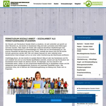 Fernstudium-soziale-arbeit.de thumbnail