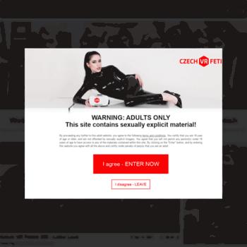 Веб сайт fetish.jdem.cz