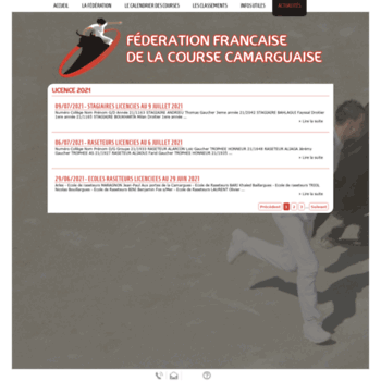 Ffcc Calendrier Des Courses Camarguaises.Ffcc Info At Website Informer Ffcc Visit Ffcc