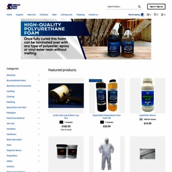 fiberglasssupplydepot com at WI  Fiberglass Supplies For