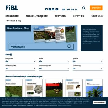 Fibl-shop.org thumbnail