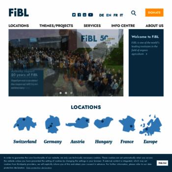 Fibl.org thumbnail