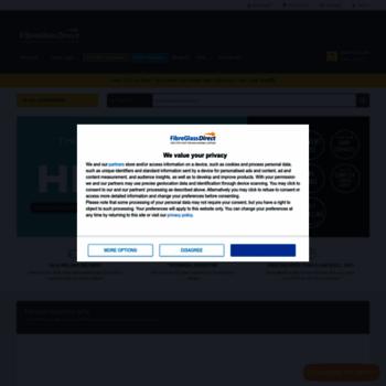 fibreglassdirect co uk at WI  FibreGlassDirect - Buy Fiberglass
