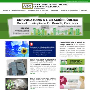 Fide.com.mx thumbnail