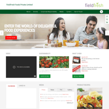 Fieldfreshfoods.in thumbnail
