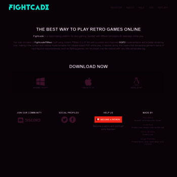 fightcade com at WI  FightCade: online retro arcade gaming platform