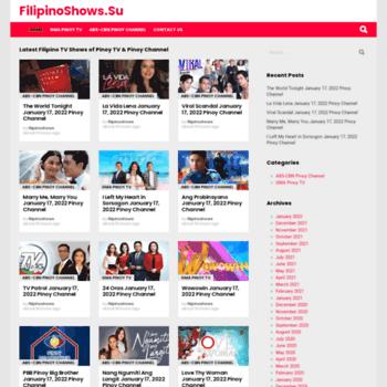 filipinoshows su at WI  OFW Pinoy TV to watch Filipino TV