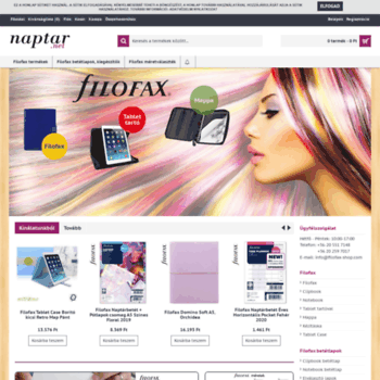 Filofax-shop.com thumbnail