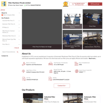 Filtermachines.in thumbnail