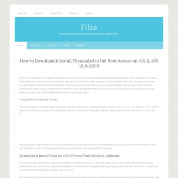 filza org at WI  Filza iOS App | Download FilzaJailed for