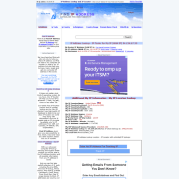 www find ip address org