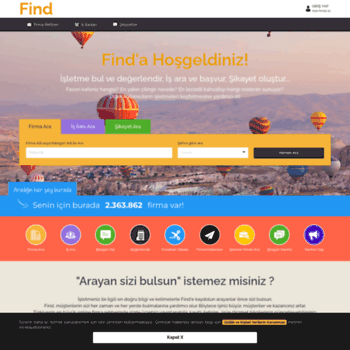 Find Com Tr At Wi Turkiye Firma Rehberi Find Kariyer