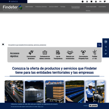 Findeter.gov.co thumbnail