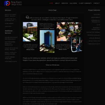 Fineformdesignstudios.co.uk thumbnail