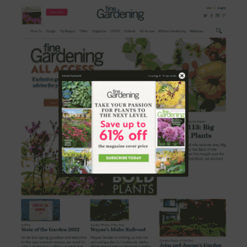 Finegardening.com Thumbnail