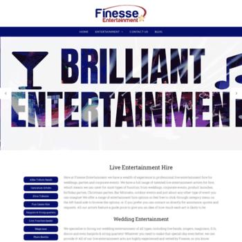 Finesseentertainment.co.uk thumbnail