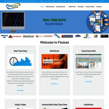 finmas in at WI  nse realtime data provider | Amibroker