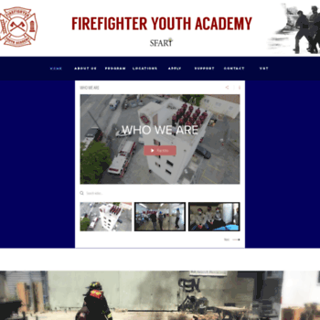 Firefighteryouthacademy.org thumbnail