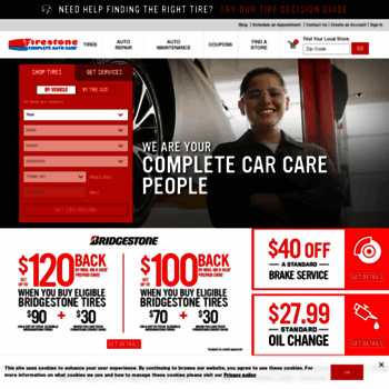 Firestonecompleteautocare Com At Wi Tires Oil Changes Brakes At