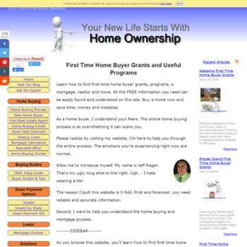 first-time-home-buyer-solutions com at WI  First Time Home