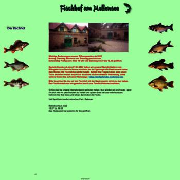 Fischhof-mellensee.de thumbnail