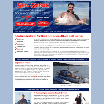 Fishingadventures.co.nz thumbnail