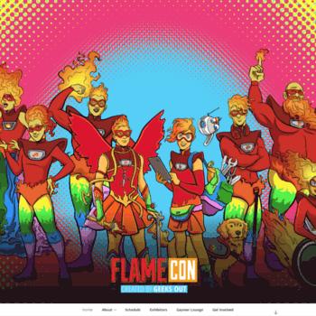 Flamecon.org thumbnail