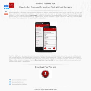 flashfireapk org at WI  Android Flashfire Apk - Download