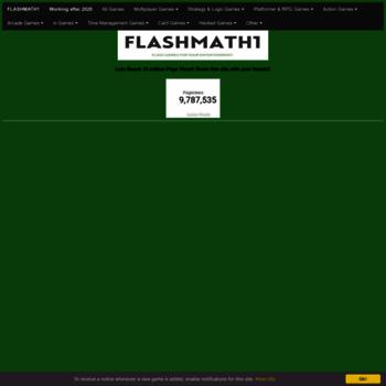 Flashmath1.github.io thumbnail