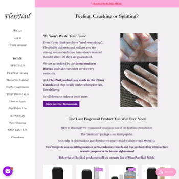 Flexinail.com thumbnail