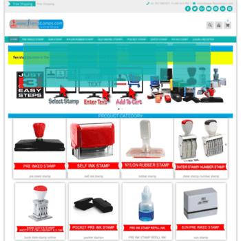 Flexistamps At WI Rubber Stamp Online Maker India Custom