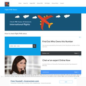 flightpnrstatus in at WI  Flight PNR Status - Check Flight PNR