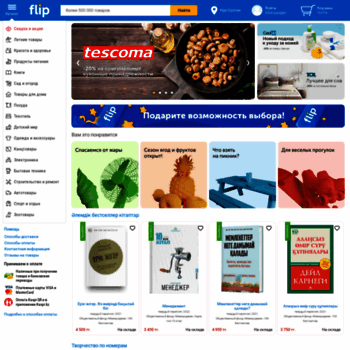 Бесплатный анализ сайта flip.kz