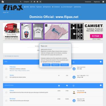 Flipax.net thumbnail