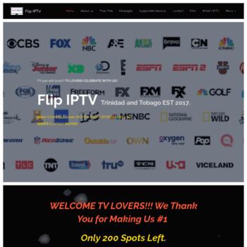 Flipiptv.com thumbnail