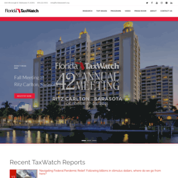 Floridataxwatch.org thumbnail