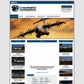 Flugzeugbilder.de thumbnail