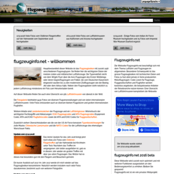 Flugzeuginfo.net thumbnail