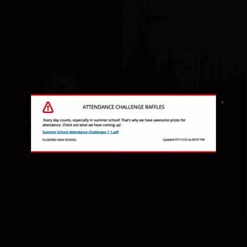 Flushinghighschool.org thumbnail
