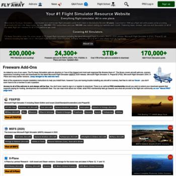 flyawaysimulation com at WI  Fly Away Simulation - Flight