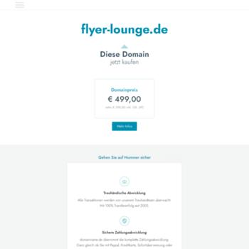 Flyer-lounge.de thumbnail