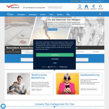 Flyerwire Com At Wi Online Druckerei Flyerwire Günstig