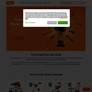Flymo.com thumbnail