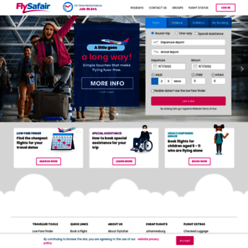 Flysafair.co.za thumbnail